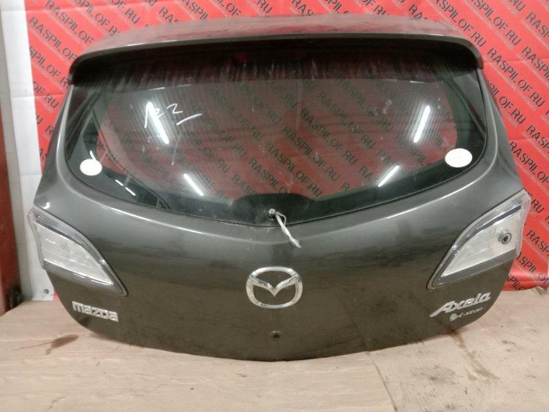 Дверь задняя багажника Mazda Axela BLEFW LF-VDS 2009