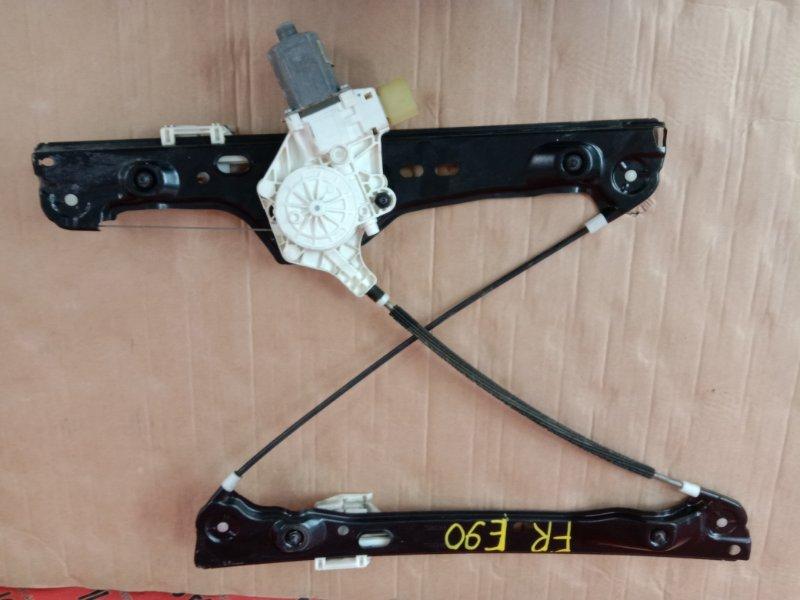Стеклоподъемник Bmw 3-Series E90 N46B20 2009 передний правый