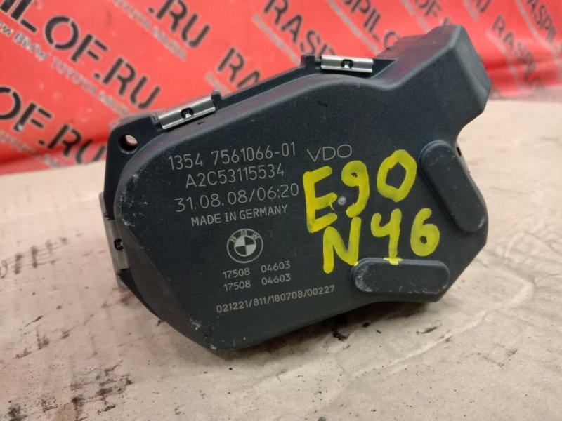 Заслонка дроссельная Bmw 3-Series E90 N46B20 2009