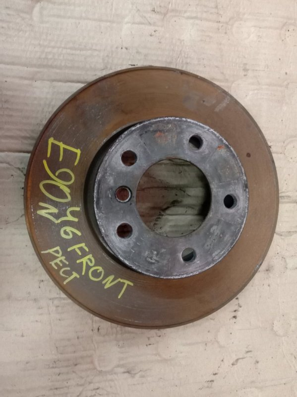 Диск тормозной Bmw 3-Series E90 N46B20 2009 передний