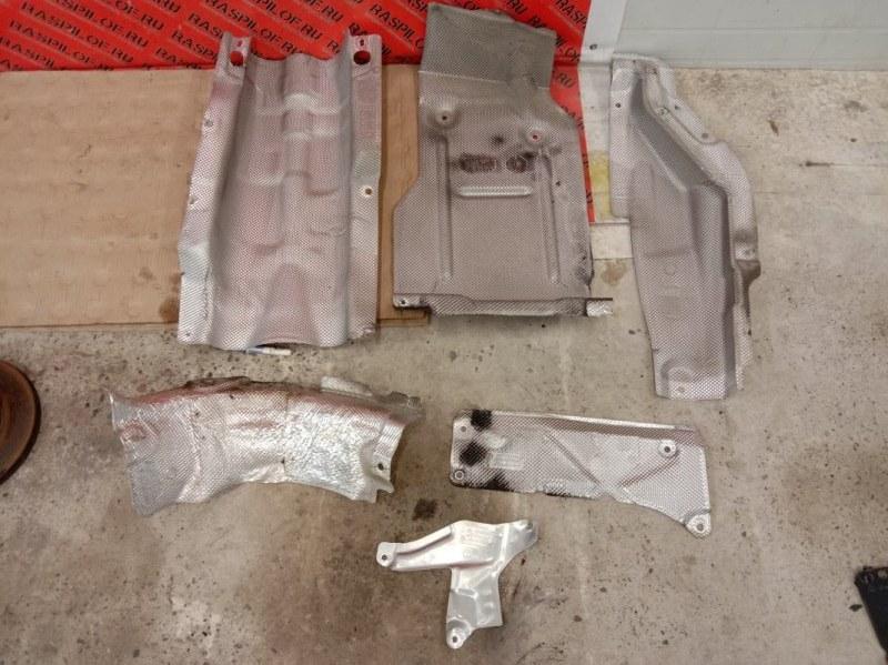 Защита глушителя Bmw 3-Series E90 N46B20 2009