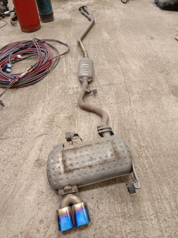 Глушитель Bmw 3-Series E90 N46B20 2009