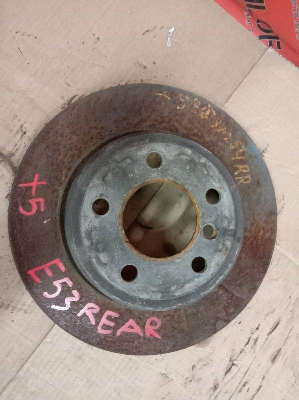 Диск тормозной Bmw X5-Series E53 M54B30 2001 задний