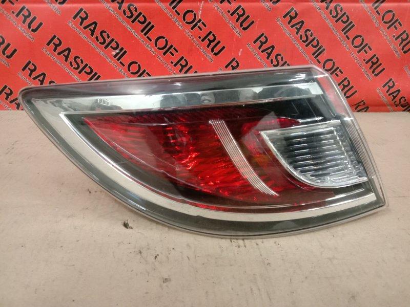 Фонарь стоп-сигнала Mazda Atenza GHEFP LF-VD 2010 задний левый