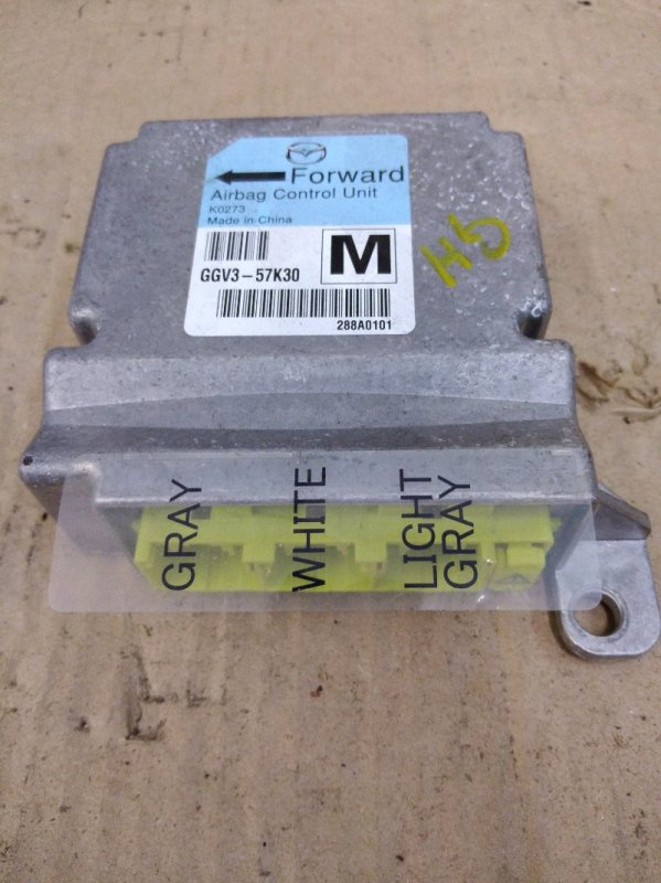 Блок управления air bag Mazda Atenza GHEFP LF-VD 2010