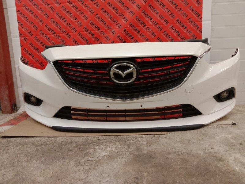 Бампер Mazda Atenza GJ2FP SH-VPTR 2014 передний