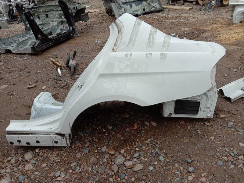 Крыло Bmw 3-Series E90 N46B20 2009 заднее левое
