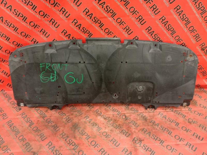 Защита бампера Mazda Atenza GJ2FP SH-VPTR 2014