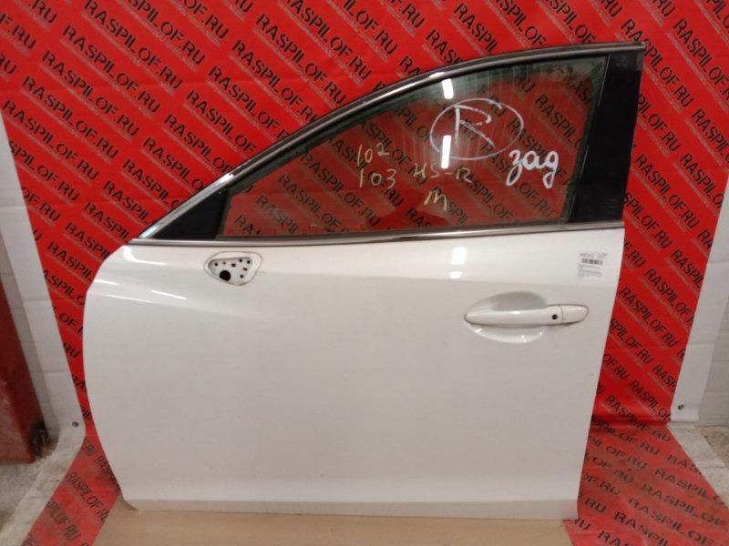Дверь боковая Mazda Atenza GJ2FP SH-VPTR 2014 передняя левая