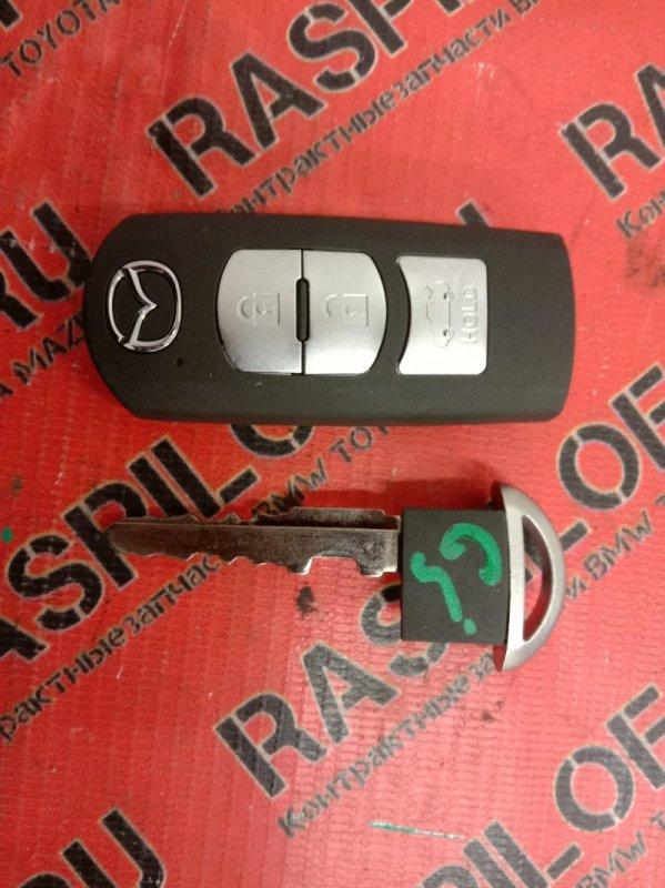 Ключ Mazda Atenza GJ2FP SH-VPTS 2014