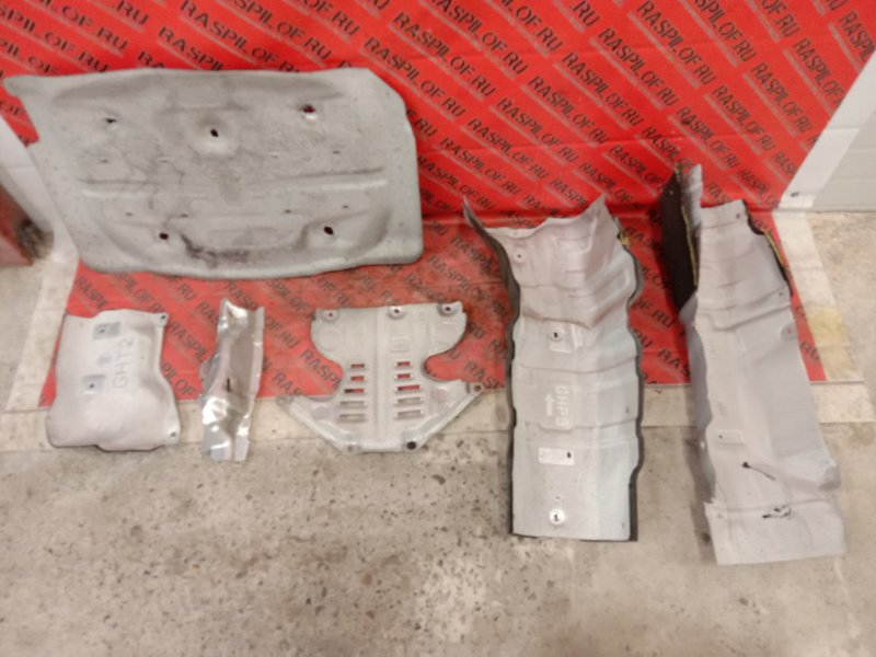 Защита глушителя Mazda Atenza GJ2FP SH-VPTS 2014
