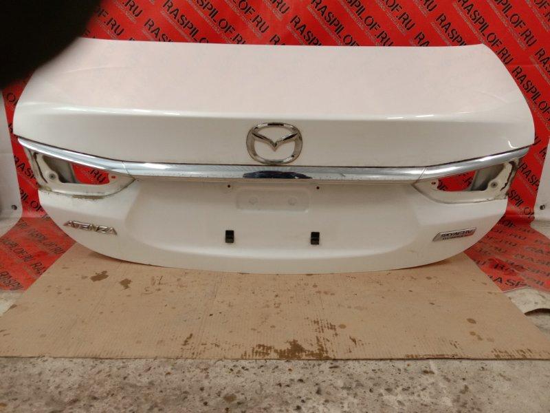 Крышка багажника Mazda Atenza GJ2FP SH-VPTS 2014