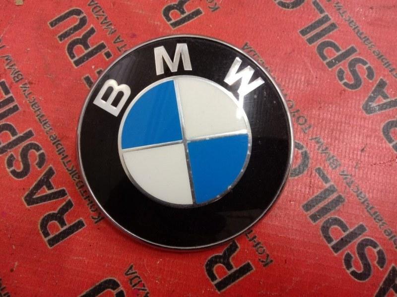 Эмблема Bmw 3-Series E90 N46B20 2007 задняя