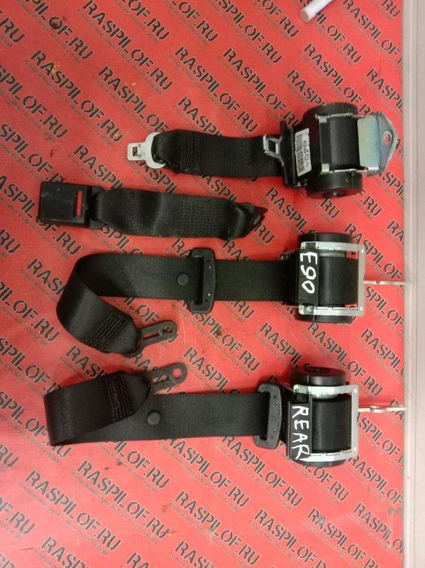 Ремень безопасности Bmw 3-Series E90 N46B20 2007 задний