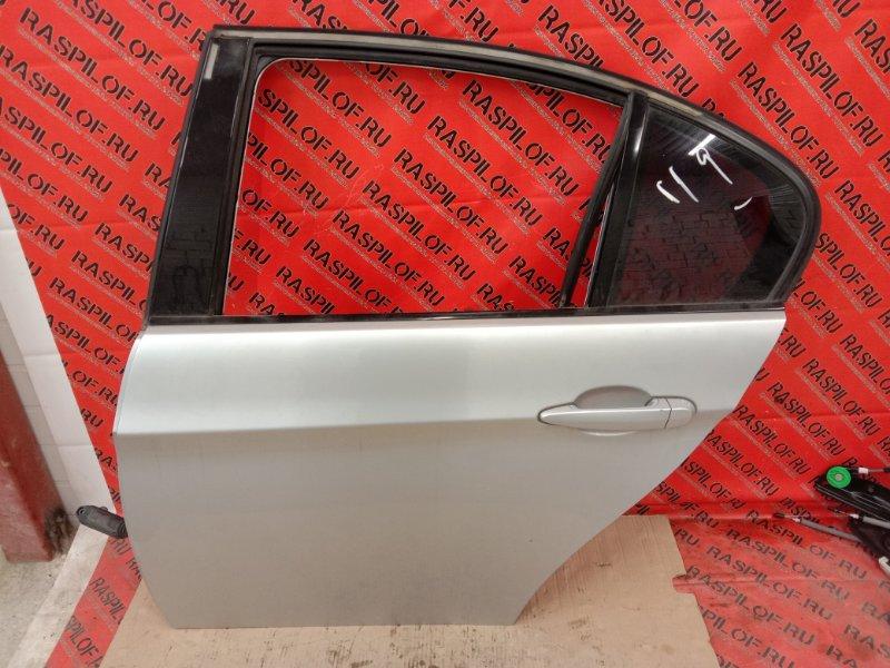 Дверь боковая Bmw 3-Series E90 N46B20 2007 задняя левая