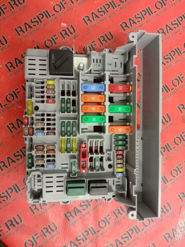 Блок реле и предохранителей Bmw 3-Series E90 N46B20 2007