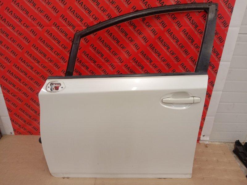 Дверь боковая Toyota Wish ZGE20 2ZR-FAE 2009 передняя левая