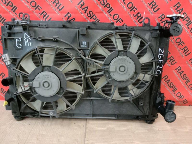 Радиатор двигателя Toyota Wish ZGE20 2ZR-FAE 2009