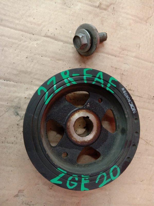 Шкив коленвала Toyota Wish ZGE20 2ZR-FAE 2009