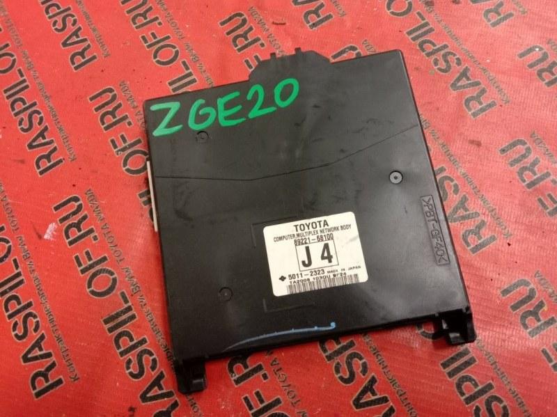 Блок управления Toyota Wish ZGE20 2ZR-FAE 2009