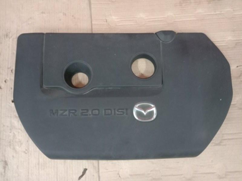 Крышка на двигатель декоративная Mazda Atenza GHEFP LF-VD 2010
