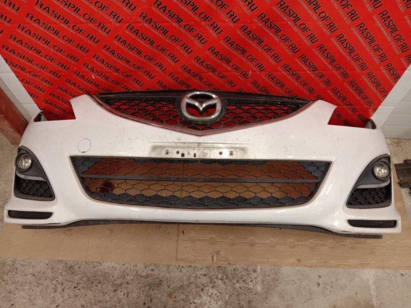 Бампер Mazda Atenza GHEFP LF-VD 2010 передний
