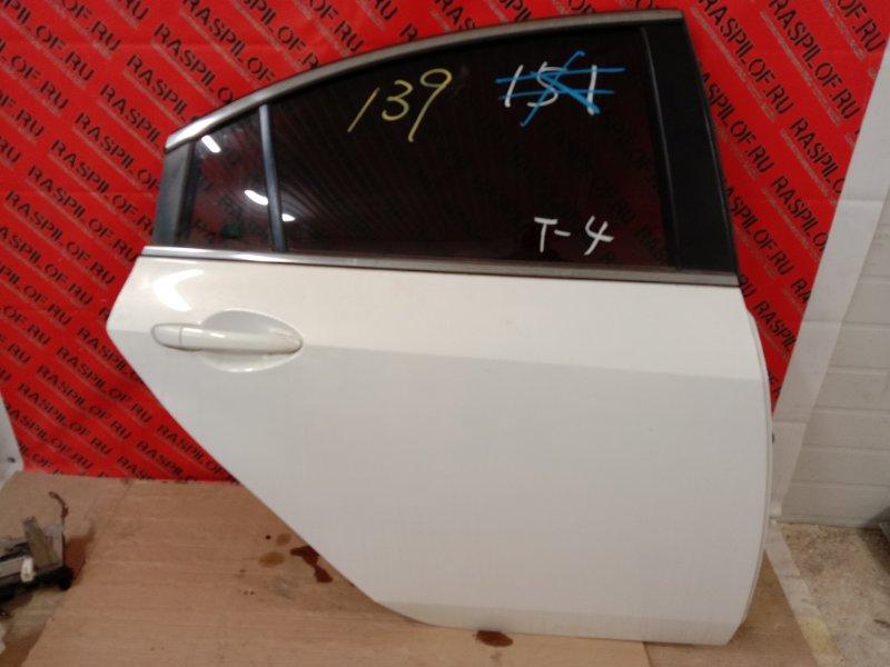 Дверь боковая Mazda Atenza GHEFP LF-VD 2010 задняя правая
