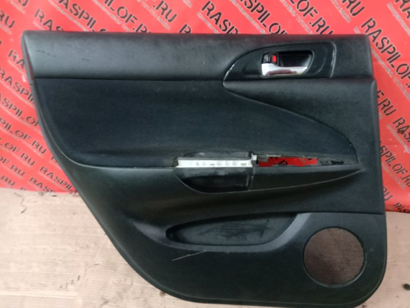 Обшивка двери Toyota Caldina ZZT241 1ZZ-FE 2003 задняя левая