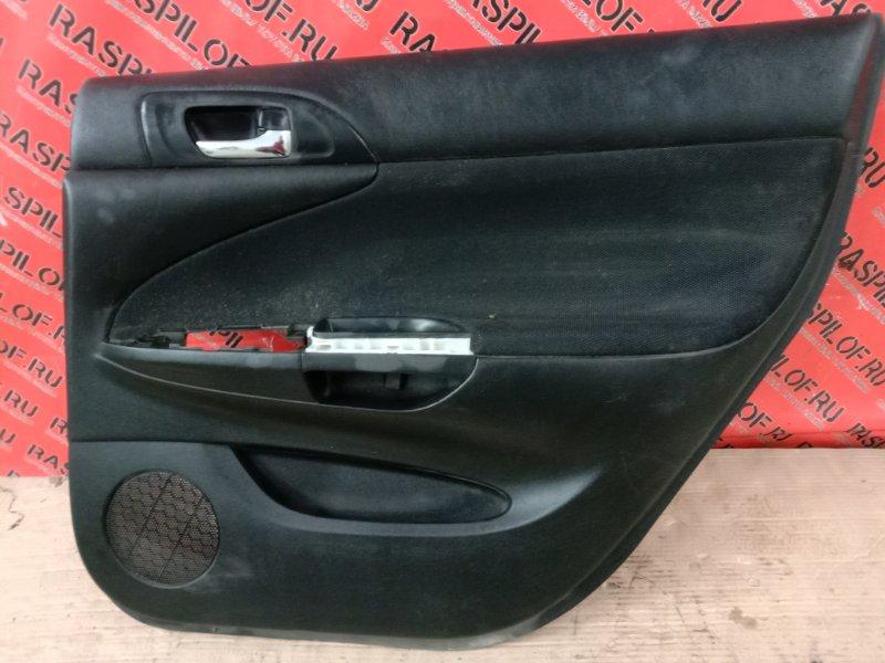 Обшивка двери Toyota Caldina ZZT241 1ZZ-FE 2003 задняя правая