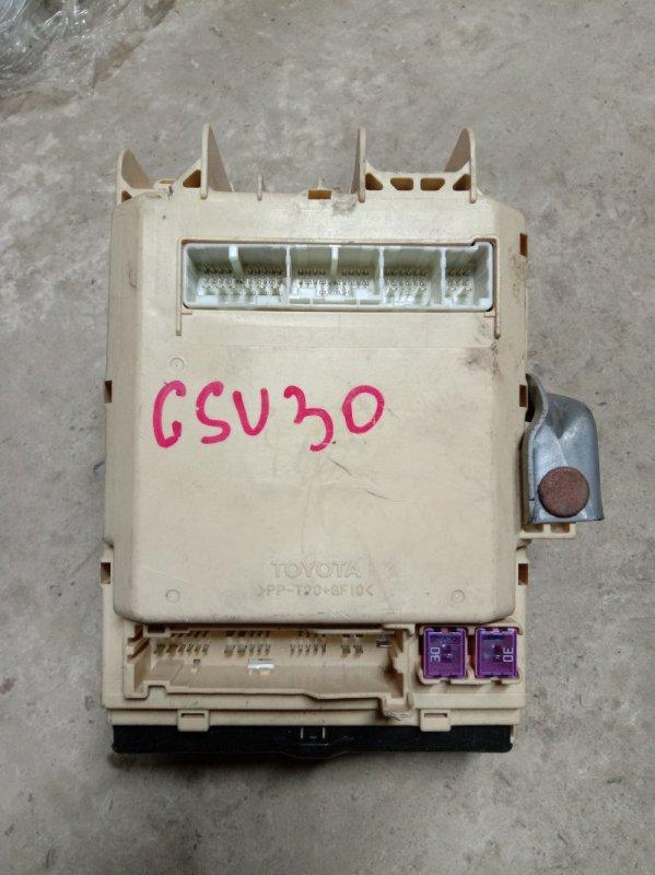Блок реле и предохранителей Toyota Harrier GSU30 2GR-FE 2005