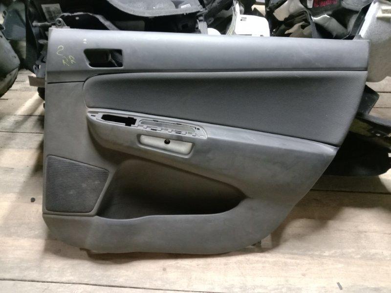 Обшивка двери Toyota Wish ZNE10 2003 задняя правая