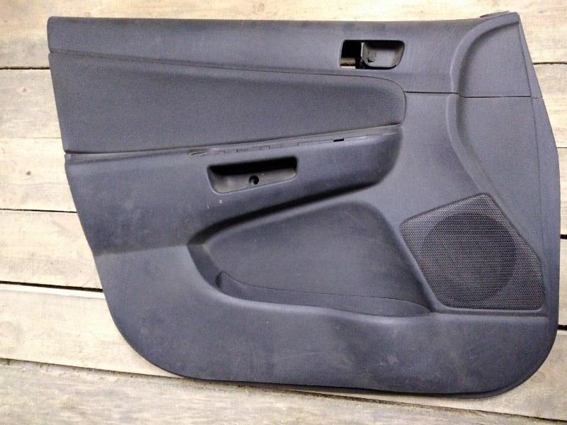 Обшивка двери Toyota Wish ZNE10 1ZZ-FE 2003 передняя левая