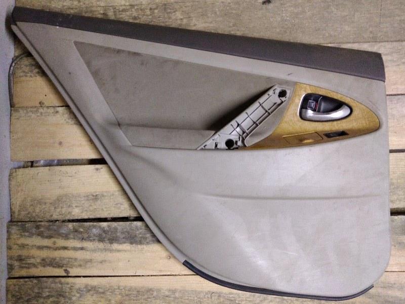 Обшивка двери Toyota Camry ACV40 2AZ-FE 2011 задняя левая