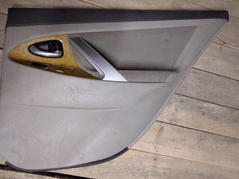 Обшивка двери Toyota Camry ACV40 2AZ-FE 2011 задняя правая