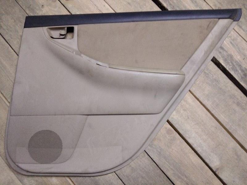 Обшивка двери Toyota Corolla Runx ZZE122 1ZZ-FE 2003 задняя правая