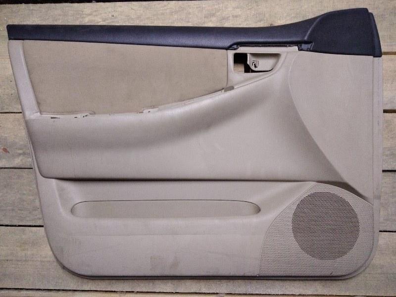 Обшивка двери Toyota Corolla Runx ZZE122 1ZZ-FE 2004 передняя левая