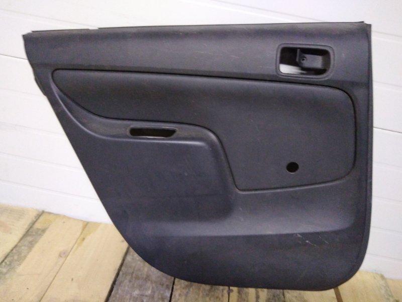 Обшивка двери Toyota Probox NCP55 1NZ-FE 2004 задняя левая