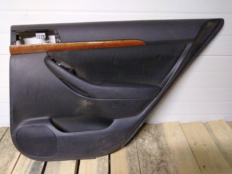 Обшивка двери Toyota Avensis AZT251 2AZ-FSE 2005 задняя правая