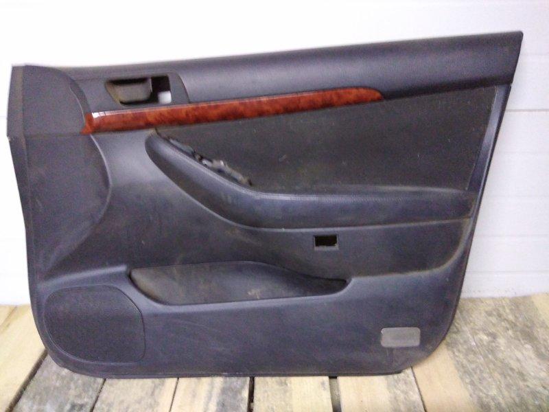Обшивка двери Toyota Avensis AZT251 2AZ-FSE 2005 передняя правая