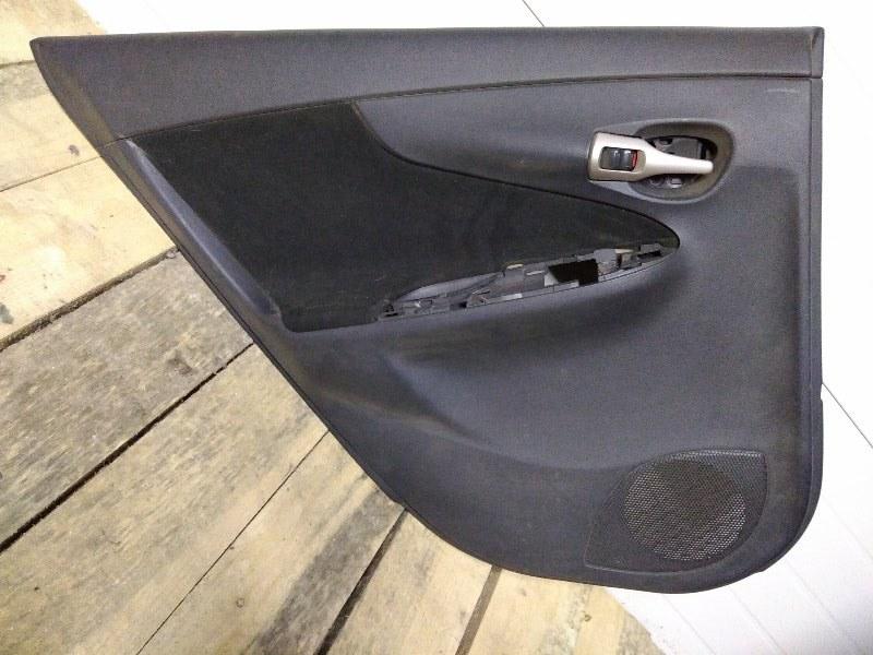 Обшивка двери Toyota Corolla Fielder NZE141 1NZ-FE 2007 задняя левая