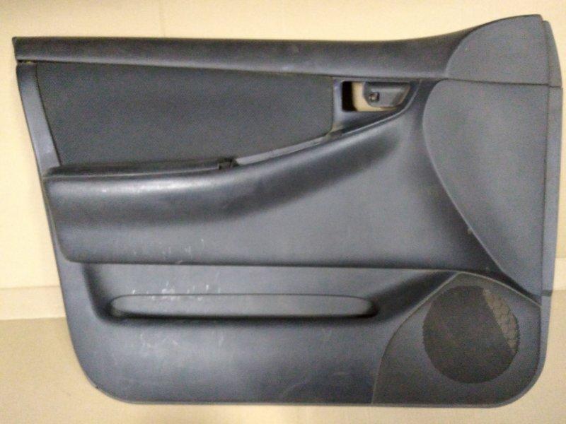 Обшивка двери Toyota Corolla Runx ZZE123 2ZZ-GE 2001 передняя левая