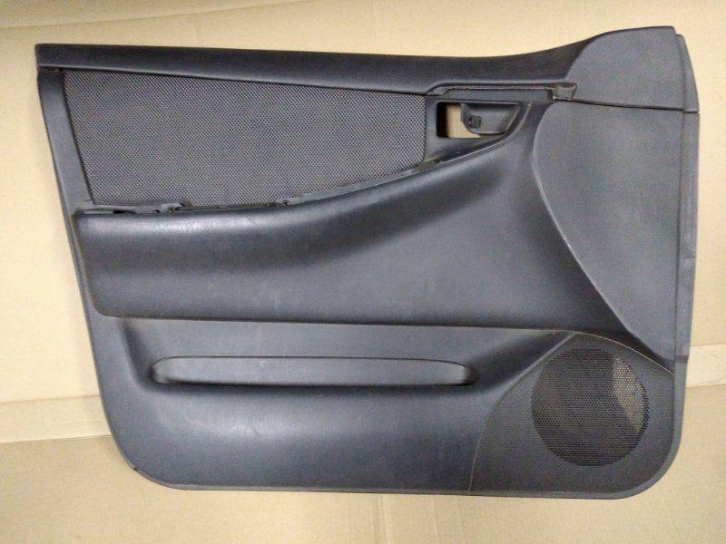 Обшивка двери Toyota Corolla Fielder ZZE123 2ZZ-GE 2005 передняя левая