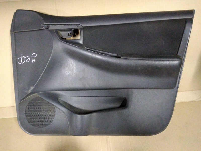 Обшивка двери Toyota Corolla Fielder ZZE123 2ZZ-GE 2005 передняя правая