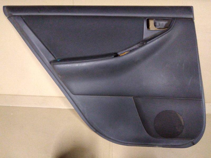 Обшивка двери Toyota Corolla Fielder ZZE123 2ZZ-GE 2005 задняя левая