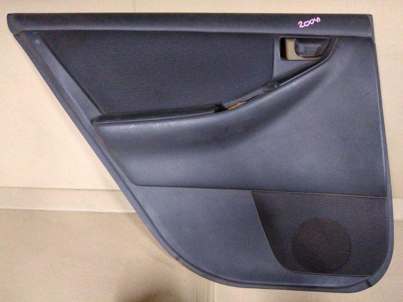 Обшивка двери Toyota Corolla Runx ZZE123 2ZZ-GE 2001 задняя левая