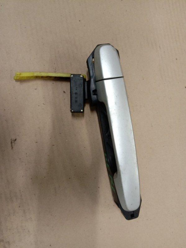 Ручка наружная Toyota Corolla Fielder NZE121 1NZ-FE 2003 задняя