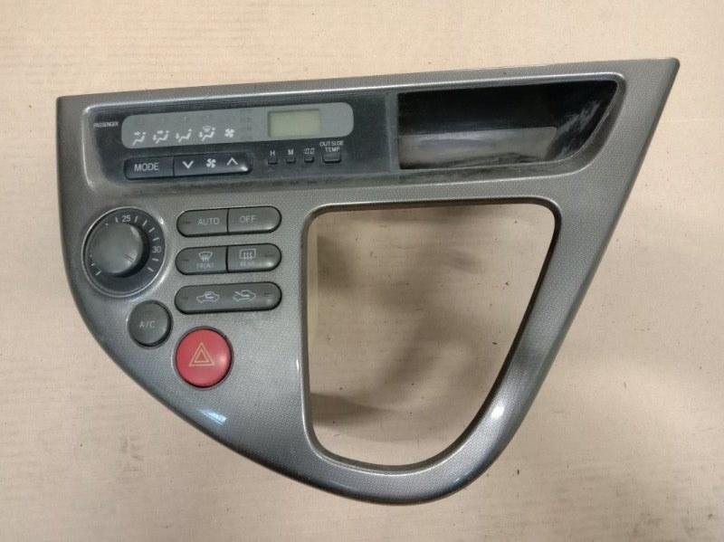 Блок управления климат-контролем Toyota Wish ZNE10 1ZZ-FE 2006