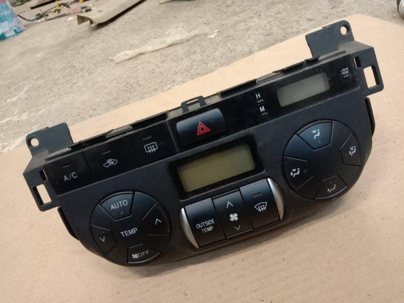 Блок управления климат-контролем Toyota Rav 4 ACA21 1AZ-FSE 2002