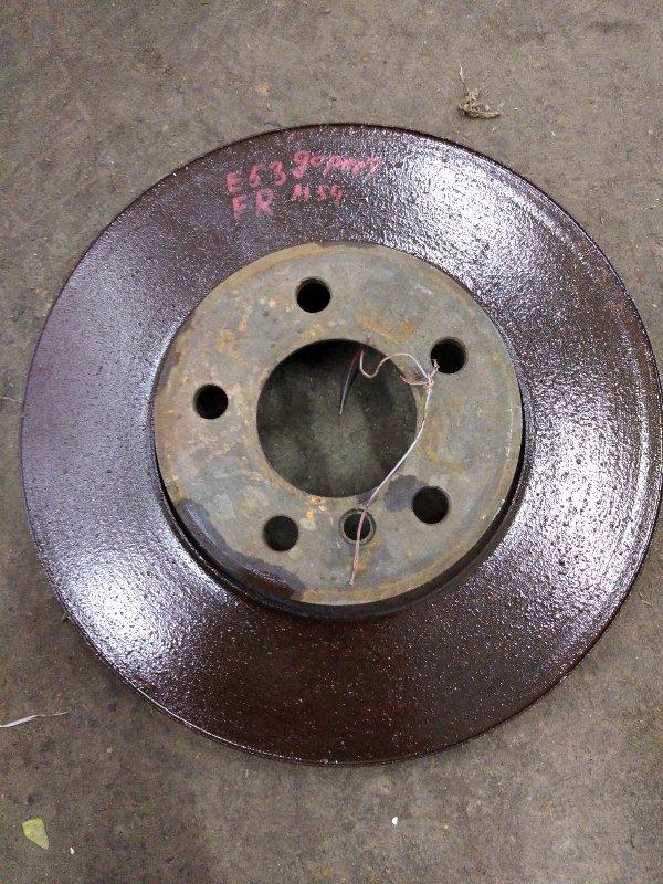Диск тормозной Bmw X5-Series E53 M54B30 2001 передний