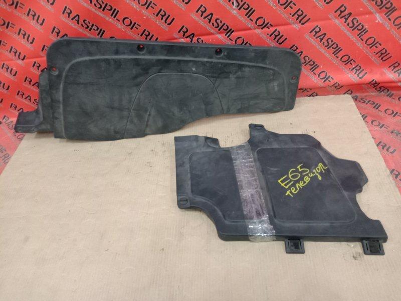 Пластиковая защита Bmw 7-Series E65 N62B48 2007 передняя